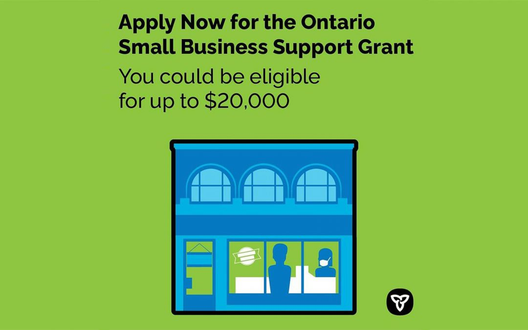 Grant funding applications open for Ontario small businesses