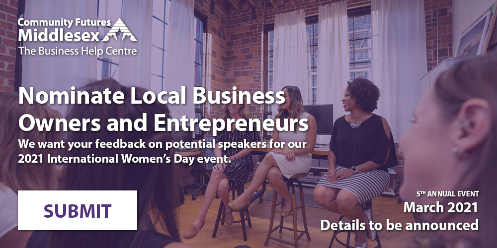 Nominate local speakers for our 2021 International Women's Day event