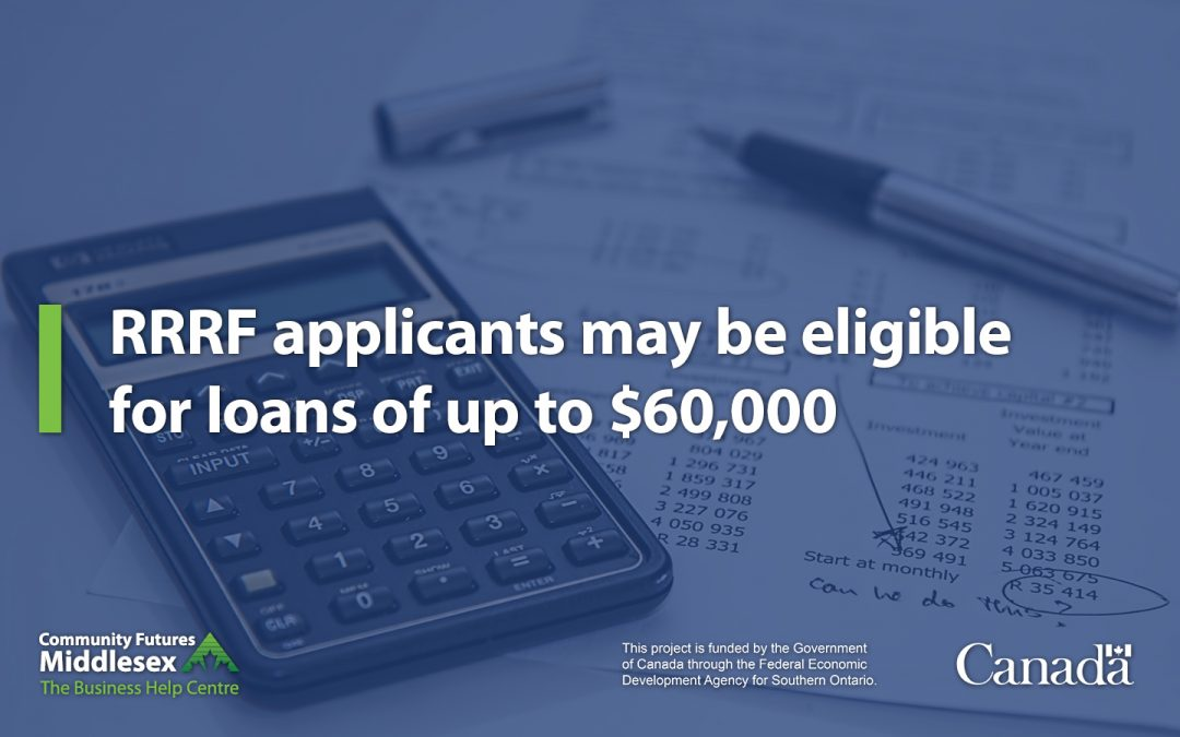 Maximum loan amount increases to $60,000 under the RRRF