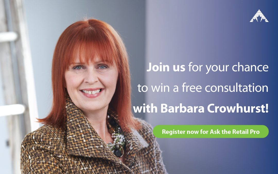 Ask the Retail Pro attendees are eligible to win a free consultation