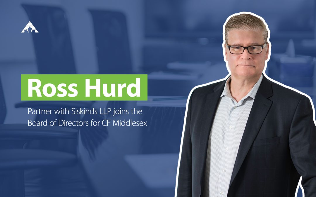 Community Futures Middlesex adds Ross Hurd as newest board member