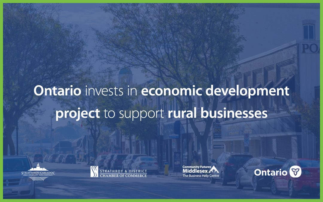 Strathroy-Caradoc receives provincial funding for new business centre